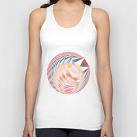 holographic Tank Tops featuring  Untitled 27 by JuanAndresChacin