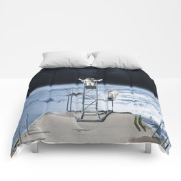 Space Schools Out for Summer Comforters