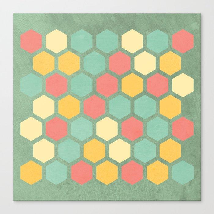 Summer bees, makes me feel fine Canvas Print