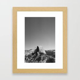 Glacier Point, Yosemite National Park Framed Art Print