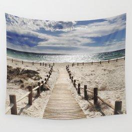 """""""Cabo de Gata"""". Square.  Retro serie Wall Tapestry"""