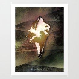 Crystal - FFIX Art Print