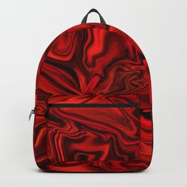 Velvety Red Backpack