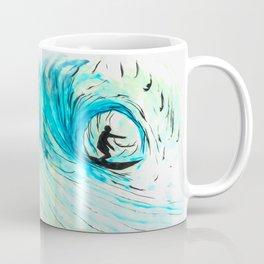 Solo - Surfing the big blue wave Coffee Mug