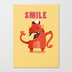 :::Smile Monster::: Canvas Print