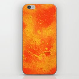 Abstract painting print iPhone Skin