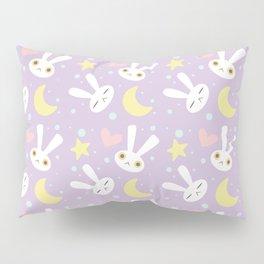 Magical Moon Rabbit Pillow Sham