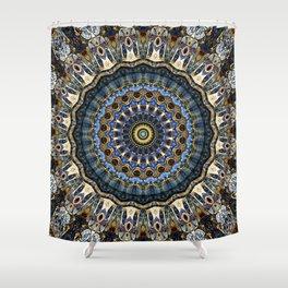 Mandala Porto Shower Curtain