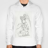 anime Hoodies featuring Anime by Peggy Murphy