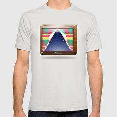 Kaleidoscope TV version C Mens Fitted Tee Silver SMALL