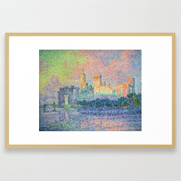 The Papal Palace, Avignon Framed Art Print