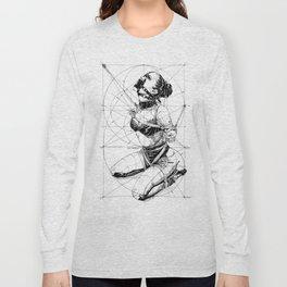 Restrained In Geometry. ©Yury Fadeev Long Sleeve T-shirt