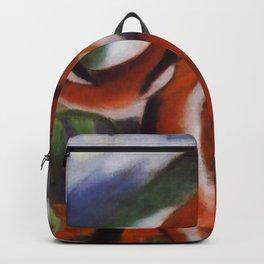 """Franz Marc """"Red Deer"""" Backpack"""
