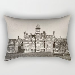 Danvers State Hospital (Danvers Lunatic Hospital), Kirkbride Rectangular Pillow