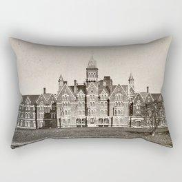 Danvers State Hospital (Danvers Lunatic Hospital), Kirkbride Rectangular Pillow