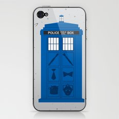 The Tardis Got Some Ink iPhone & iPod Skin
