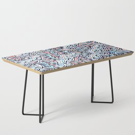 black topography Coffee Table