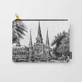 St. Louis Cathedral, New Orleans Carry-All Pouch