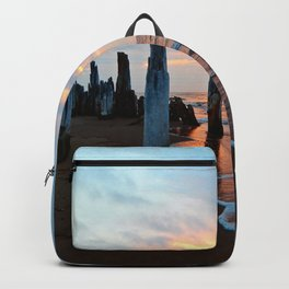 Pillars of the Past at Dusk Backpack