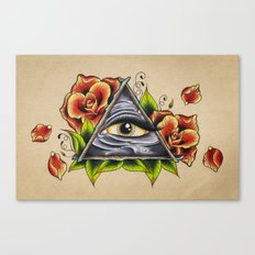 Eyes on You Canvas Print