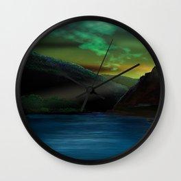Romantic Rhine Wall Clock