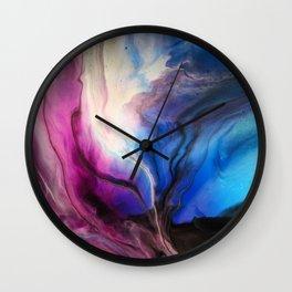 Sky Walker - Original Abstract Painting Wall Clock