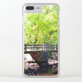The bridge Clear iPhone Case
