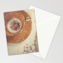Two Teacups Stationery Cards