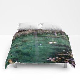 Edge of Winter Comforters