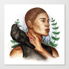 Ronan [The Raven Cycle Series] Canvas Print