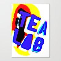 lab Canvas Prints featuring Tea Lab by mark jones