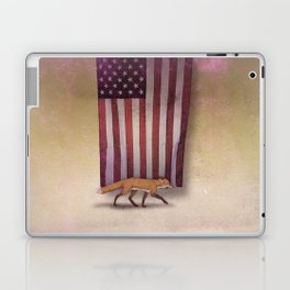 the Fox & the Flag Laptop & iPad Skin