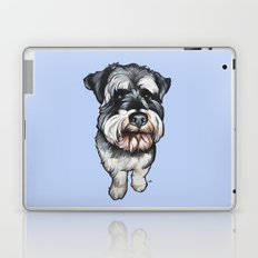 Barney the Miniature Schnauzer Laptop & iPad Skin