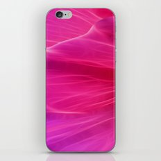 Cerise Poppy Petal Abstract iPhone & iPod Skin