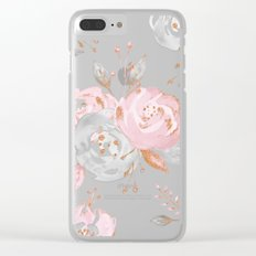 Night Roses 2 Clear iPhone Case