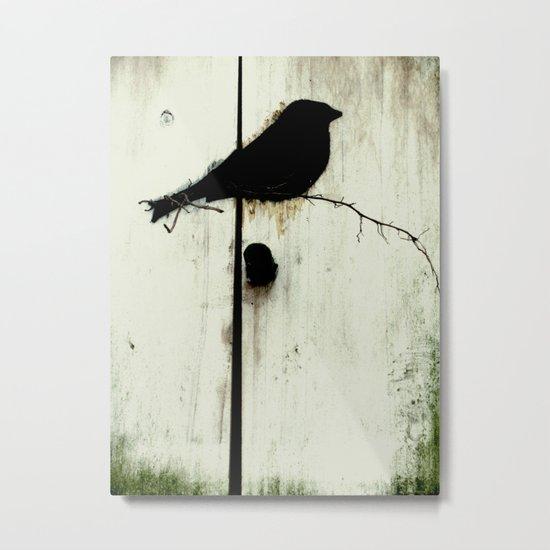 Early Bird - JUSTART © Metal Print