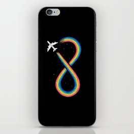 Unlimited Traveling iPhone Skin