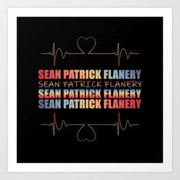 Flanery Heart Beat Art Print