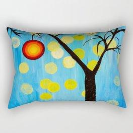 Modern Tree Rectangular Pillow