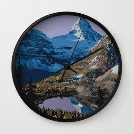 Mt. Assiniboine Provincial Park Wall Clock