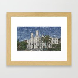 ancient palace Framed Art Print