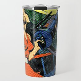 Comic Girl - 5 Pop Travel Mug