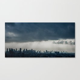 Tropical City Canvas Print