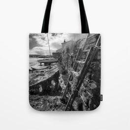 Estuary Steps Tote Bag