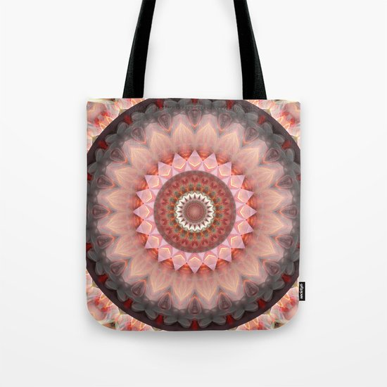 Mandala Teenage Girl Tote Bag