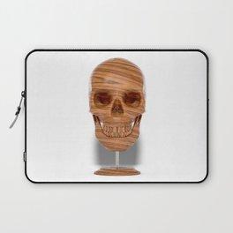Wooden Skull Laptop Sleeve