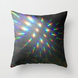 light lines Throw Pillow