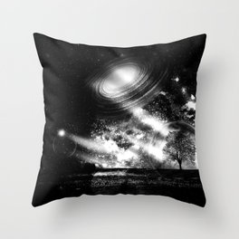 In a Lonely Place Throw Pillow
