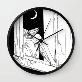 Something's on my mind Wall Clock