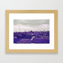 Berlin-Roofgarden's View Framed Art Print